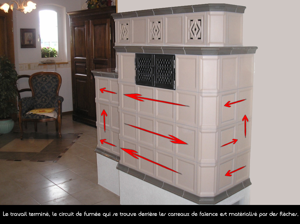technique po le en fa ence ehrhardt chemin es. Black Bedroom Furniture Sets. Home Design Ideas